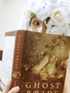 "Me reading ""The Ghost Bride,"" by Yangsze Choo"